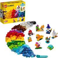 LEGO® Classic - Creative Transparent Bricks (500 Pieces)