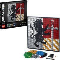 LEGO® ART - Harry Potter Hogwarts Crests (4249 Pieces)