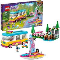 LEGO® Friends - Forest Camper Van and Sailboat (487 Pieces)