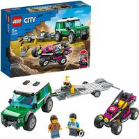 LEGO® City Great Vehicles - Race Buggy Transporter (210 Pieces)
