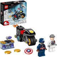 LEGO® Super Heroes - Captain America and Hydra Face-Off (49 Pieces)