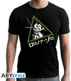 One Piece - Zoro Black New Fit Unisex T-Shirt (Medium)