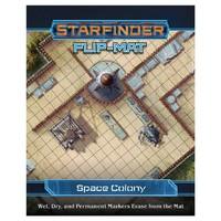 Starfinder: Flip-Mat: Space Colony (RPG Accessories)