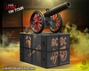 AC/DC - Cannon 'For Those About to Rock' On Tour Series Collectible Figurine