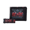 AC/DC - Black Ice  Embossed Wallet With Chain