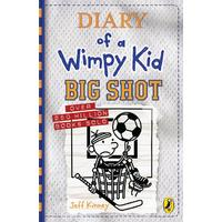 Diary of a Wimpy Kid 16: Big Shot - Jeff Kinney (Hardcover)