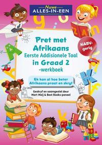 Nuwe Alles-In-Een Graad 2 Pret met Afrikaans Eerste Addisionele Taal-werkboek - Mart Meij (Paperback) - Cover