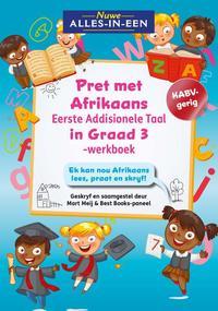 Nuwe Alles-In-Een Graad 3 Pret met Afrikaans Eerste Addisionele Taal-werkboek - Mart Meij (Paperback) - Cover