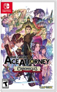 The Great Ace Attorney Chronicles (US Import Nintendo Switch) - Cover