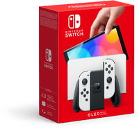 Nintendo Switch (OLED Model) Console - White Model
