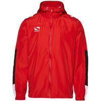 Sondico Sportswear - Venata Rain Jacket - Youth - 9-10 Years - Medium - Boys - Red/White