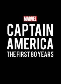 Captain America: The First 80 Years - Marvel Comics (Hardcover) - Cover
