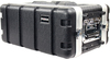 Prorak 4U ABS 8 Inch Amp Rack (Black)