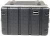 Prorak 6U ABS 19 Inch Amp Rack (Black)