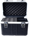 Prorak Deluxe ABS 9 Microphone Holder Case (23cm)