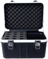 Prorak Deluxe ABS 12 Microphone Holder Case (30cm)