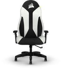 Corsair - TC60 FABRIC Gaming Chair - White