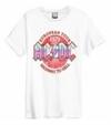 AC/DC - Vintage 79 Amplified Vintage White Medium T-Shirt