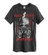 Black Sabbath - Wicked World Amplified Vintage Charcoal Medium T-Shirt