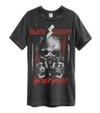Black Sabbath - Wicked World Amplified Vintage Charcoal X-Large T-Shirt