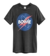 David Bowie - To the Moon Amplified Vintage Charcoal XX-Large T-Shirt