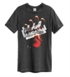 Judas Priest - British Steel Amplified Vintage Charcoal Large T-Shirt