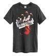 Judas Priest - British Steel Amplified Vintage Charcoal Small T-Shirt