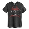 Metallica - Young Metal Attack Amplified Vintage Charcoal Large T-Shirt