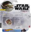 Mattel Collectibles - Hot Wheels - Star Wars The Mandalorian - The Child Hover Pram Starship