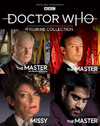 Eaglemoss Collection - Doctor Who the Master Box Set #2 Figures