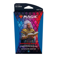 Magic: The Gathering - Adventures in the Forgotten Realms Theme Booster - Blue (Trading Card Game) - Cover