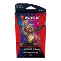 Magic: The Gathering - Adventures in the Forgotten Realms Theme Booster - Red (Trading Card Game) - Cover