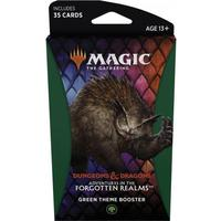Magic: The Gathering - Adventures in the Forgotten Realms Theme Booster - Green (Trading Card Game)