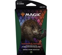 Magic: The Gathering - Adventures in the Forgotten Realms Theme Booster - Green (Trading Card Game) - Cover