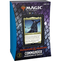 Magic: The Gathering - Adventures in the Forgotten Realms Commander Deck - Dungeons of Death (Trading Card Game) - Cover