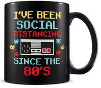 Social Distancing Since The 80's Mug