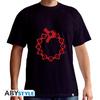 Seven Deadly Sins - Emblems Black Basic Unisex T-Shirt (Large)