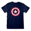 Marvel - Captain America Shield Unisex T-Shirt (Small)