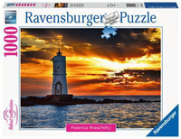 Ravensburger - Lighthouse of Mangiabarche Island of Sant Antioco, Sardinia Puzzle (1000 Pieces)