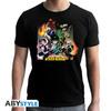 My Hero Academia - Group Black New Fit Unisex T-Shirt (Medium)