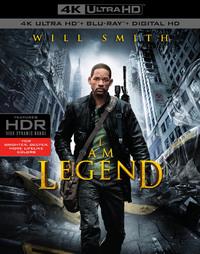 Io Sono Leggenda (4K Ultra HD + Blu-ray) - Cover
