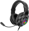 Redragon H260 Hylas Over-Ear RGB Wired Gaming Headset - Black