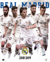 Real Madrid 2018/2019 Grupo (Mini Poster 40x50 cm)