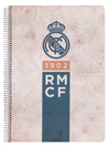 Real Madrid Vintage Collection (Copybook Polypropylene Cover A4)