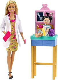 Barbie - Pediatrician Doll Playset