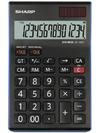 Sharp EL144T Desk Calculator 14 Digits Twin Power Tax