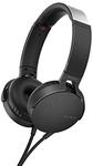 Sony Extra Bass On-Ear Headphone - Black