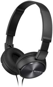 SonyFolding Aux Headphones - Black - Cover