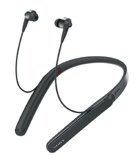 Sony WI-1000X Wireless Noise-Canceling Headphones (Black) - Cover