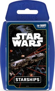 Top Trumps Specials - Star Wars Starships - Cover